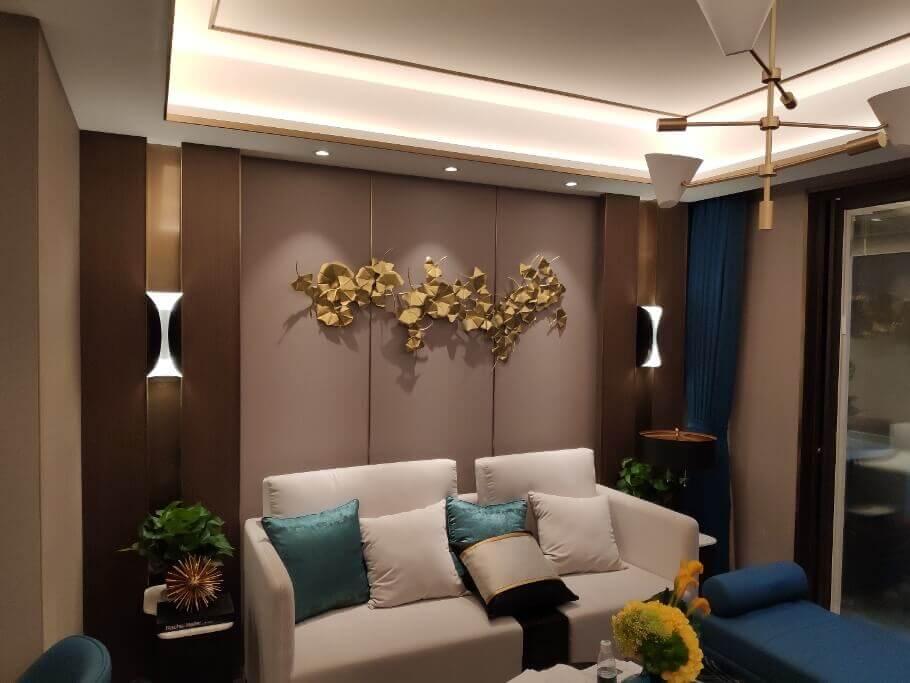 无锡宝龙世家样板房灯具定制照明设计