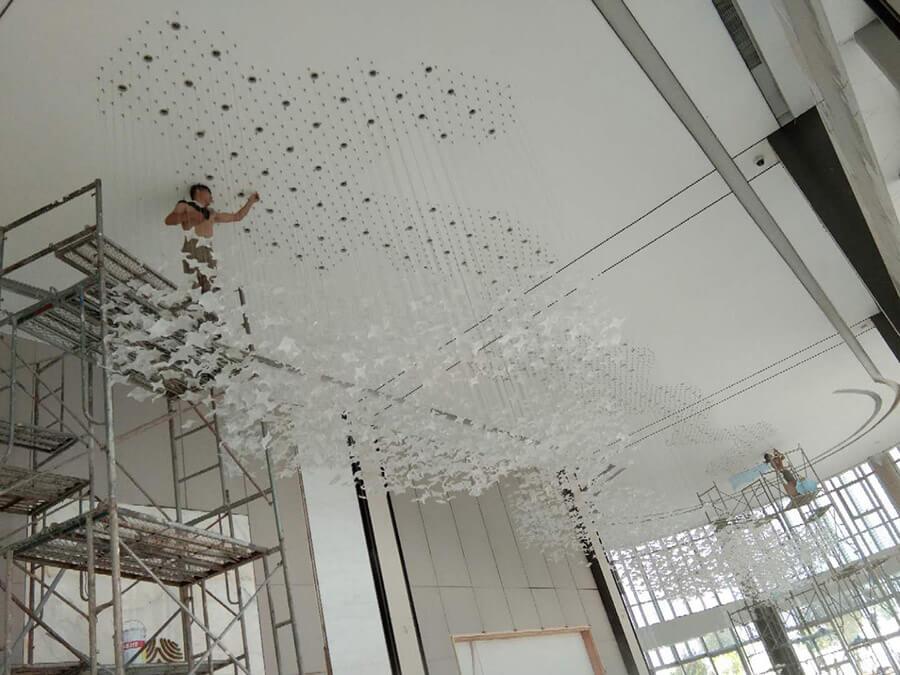 徐州宝龙世家售楼处工程灯定制 照明设计
