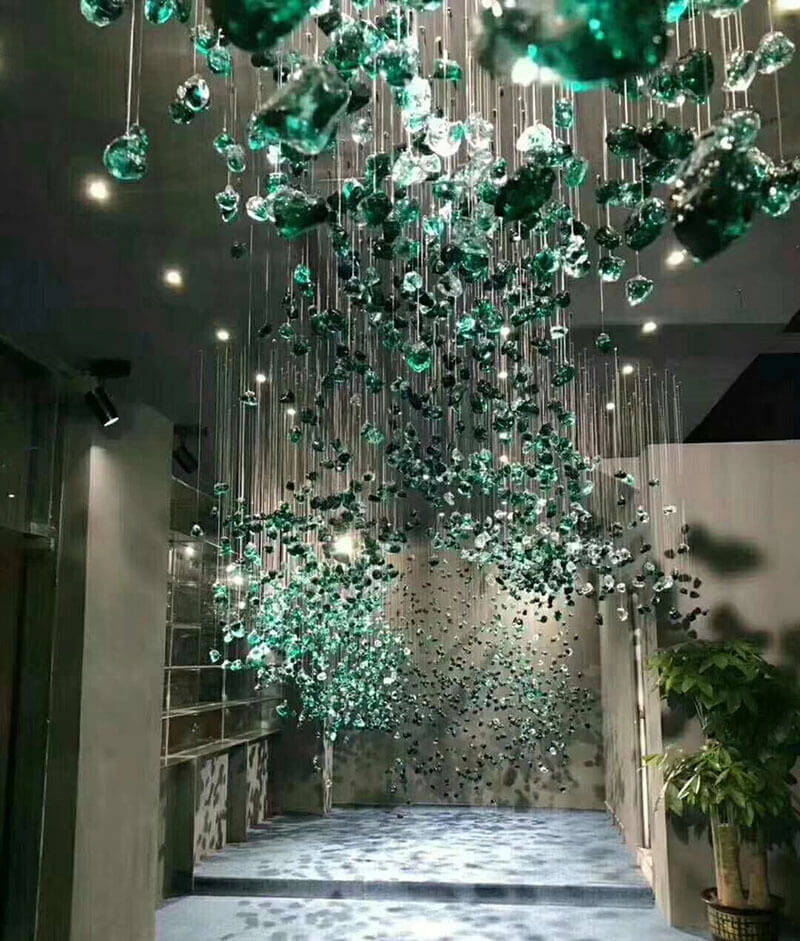 走廊水晶吊灯定制
