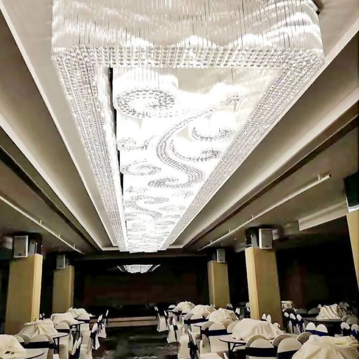 酒店大厅灯具定制-源头厂家包安装