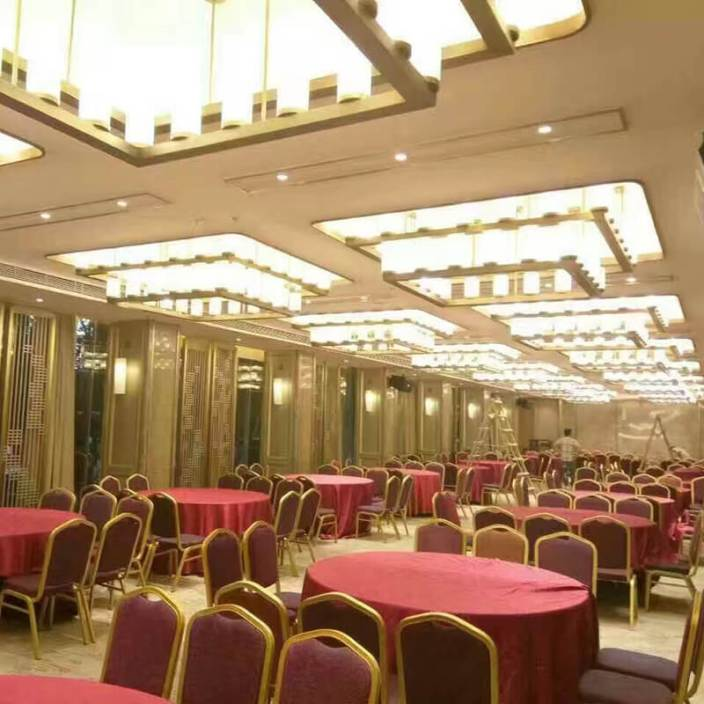 五星级酒店多功能厅照明灯具定制